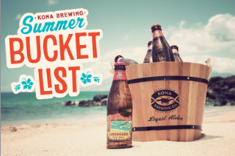 kona summer bucket list