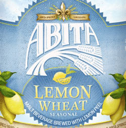 Abita Lemon Wheat beer is great for a summer picnic.