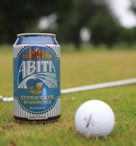 Abita Seersucker beer is dressed for summer.
