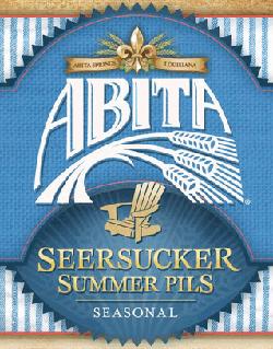 Abita Seersucker Summer Pils craft beer.