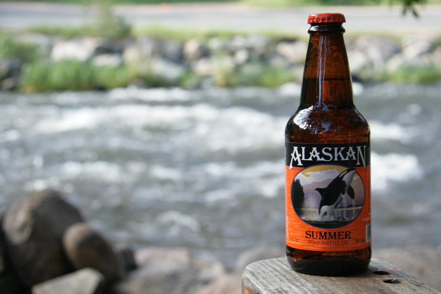 Alaskan summer seasonal beer is very drinkable.