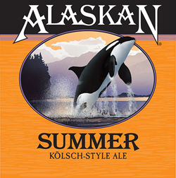 Alaskan Summer Kolsch Style Ale is a perfect summer beer.