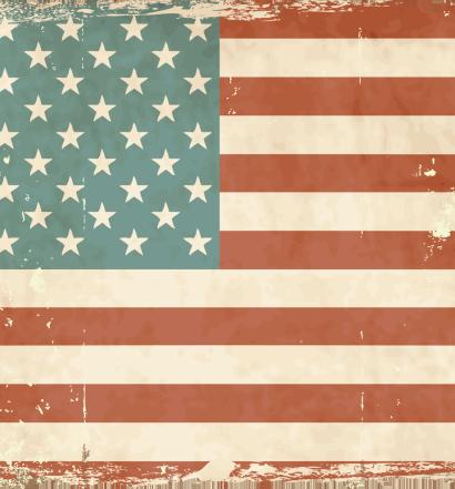 American summer beer flag.