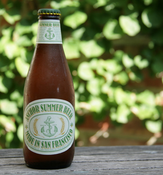 Anchor Steam Summer Beer is a seasonal refresher.