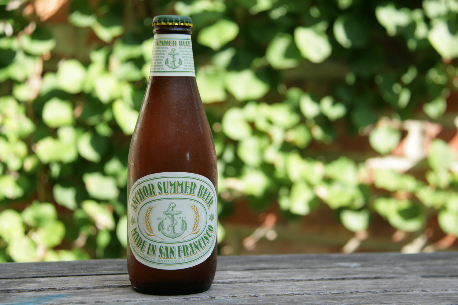 Anchor Summer Beer is a seasonal refresher from California.