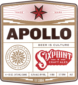 Sixpoint Apollo Kristallweizen is a very drinkable summer beer.