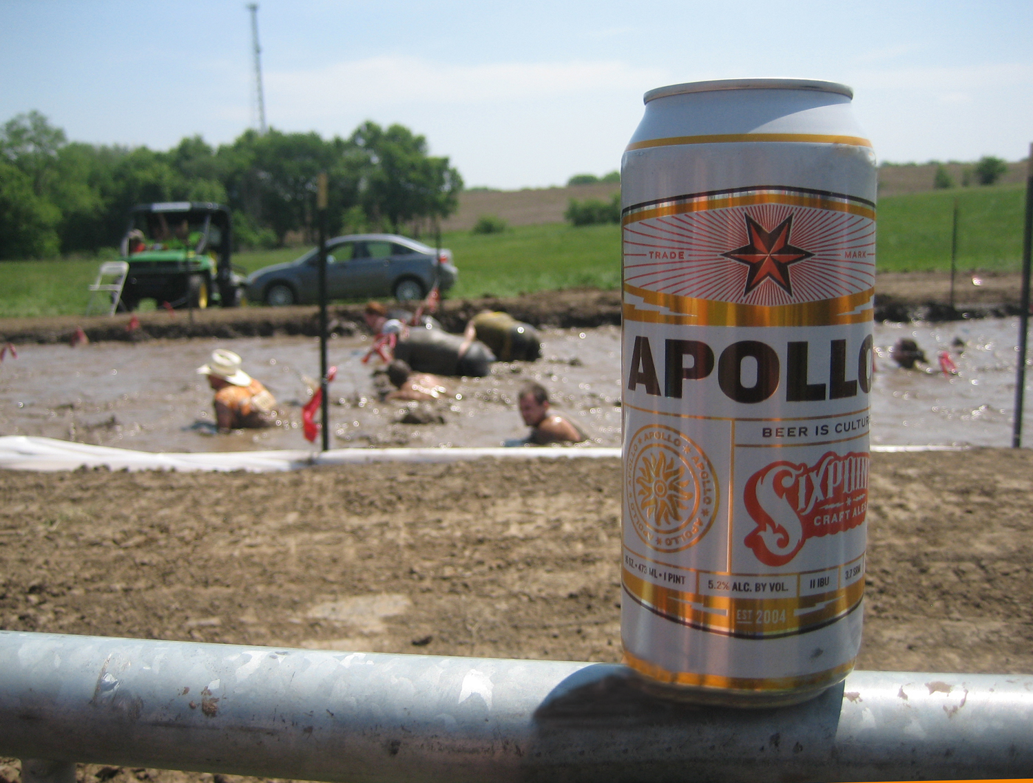 Apollo summer Kristallweizen beer is great for the sun.