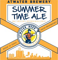 Drink Summer Time Ale when you get off work.
