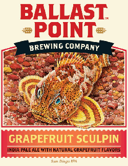 Ballast Point Grapefruit Sculpin is a great summer beer.