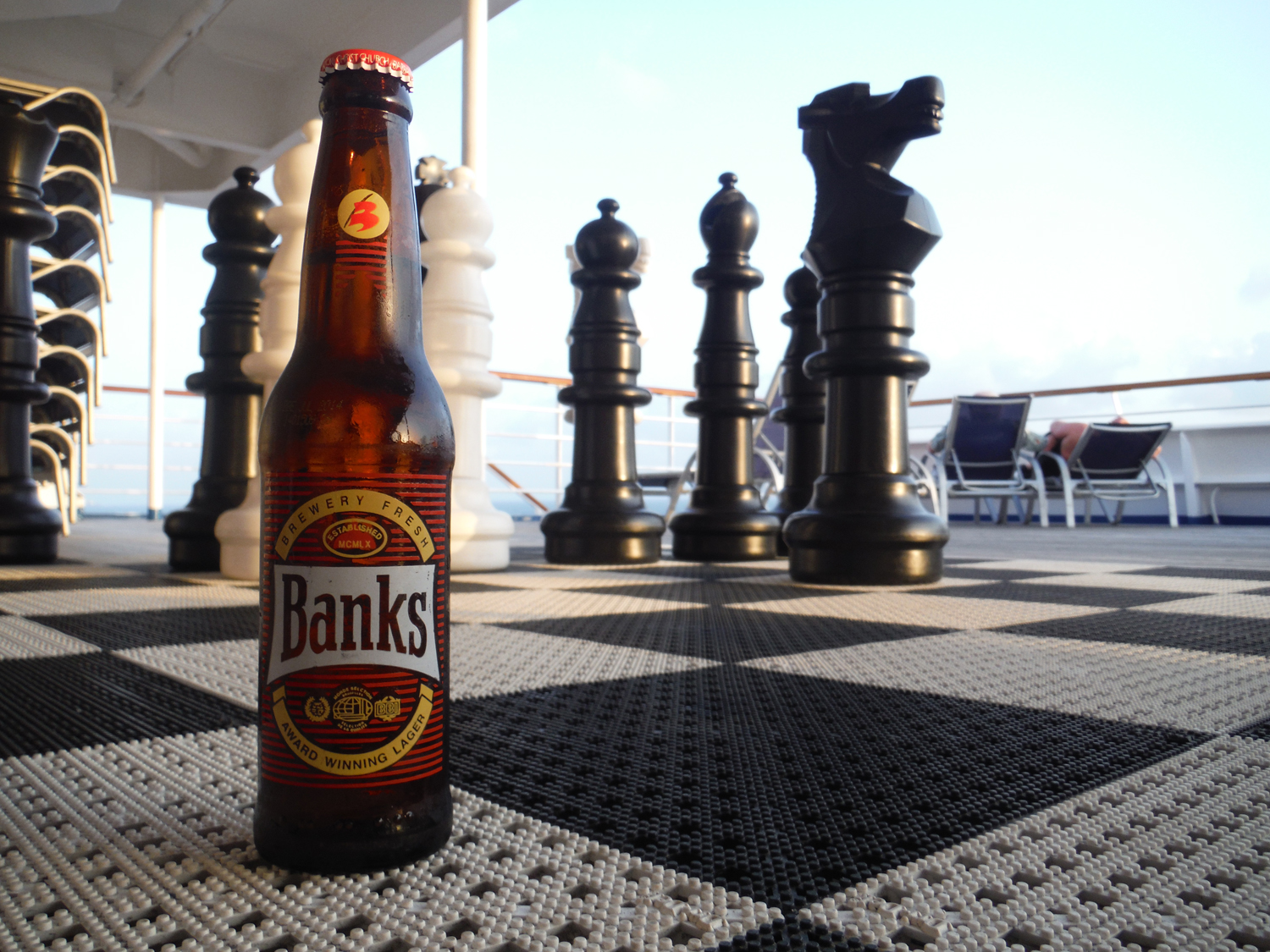 Order Banks Caribbean Lager when on Barbados.