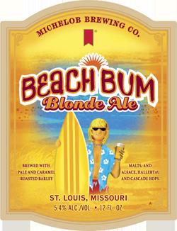 Beach Bum Blonde Ale is a summer beach beer.