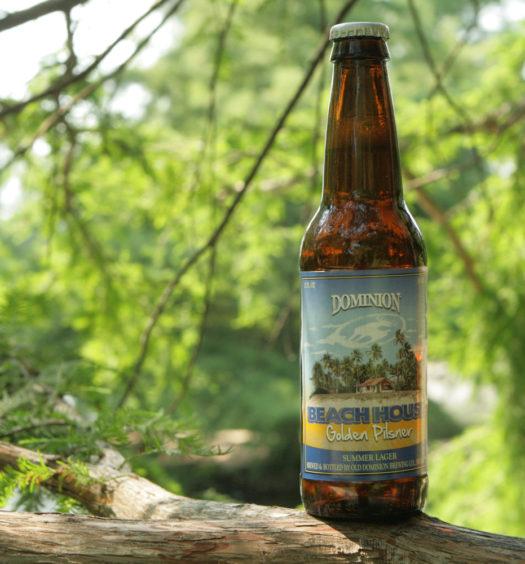 Enjoy a seasonal summer Beach House beer.