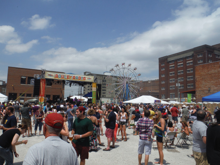 Summer beer festival.
