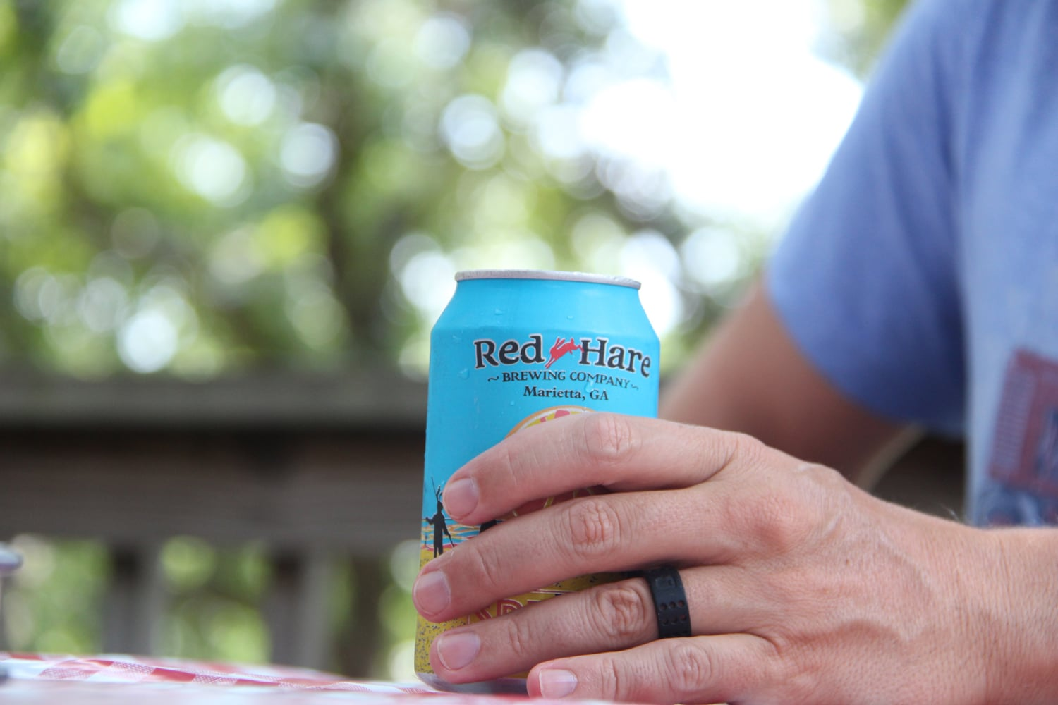 flexible wedding ring flexible wedding ring Relax with a flexible wedding ring and Red Hare 50 50 grapefruit radler