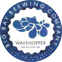 Big Bay Wavehopper boat beer is an excellent summer kolsch.