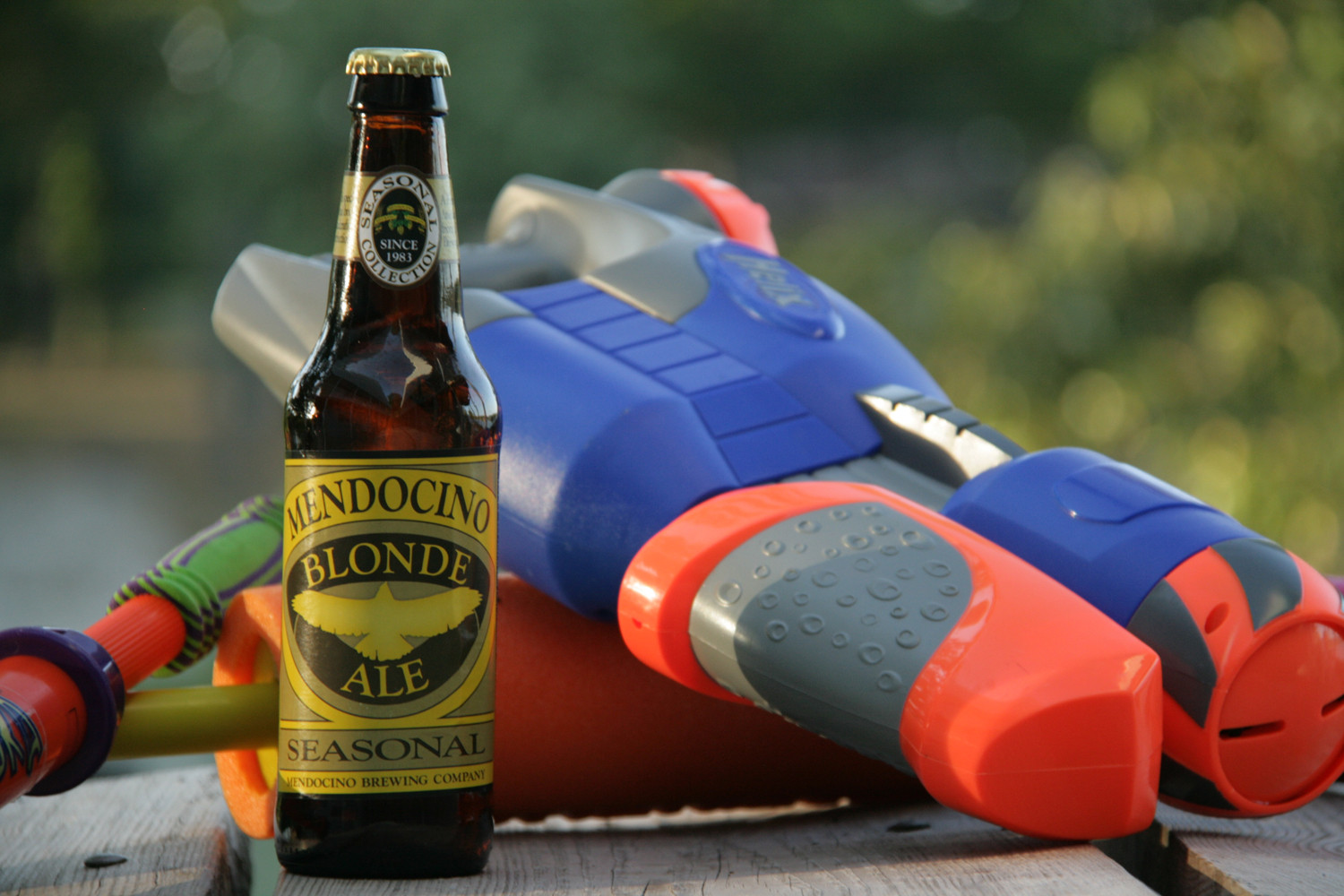 Blonde Ale is a perfect refreshing summer boat beer.