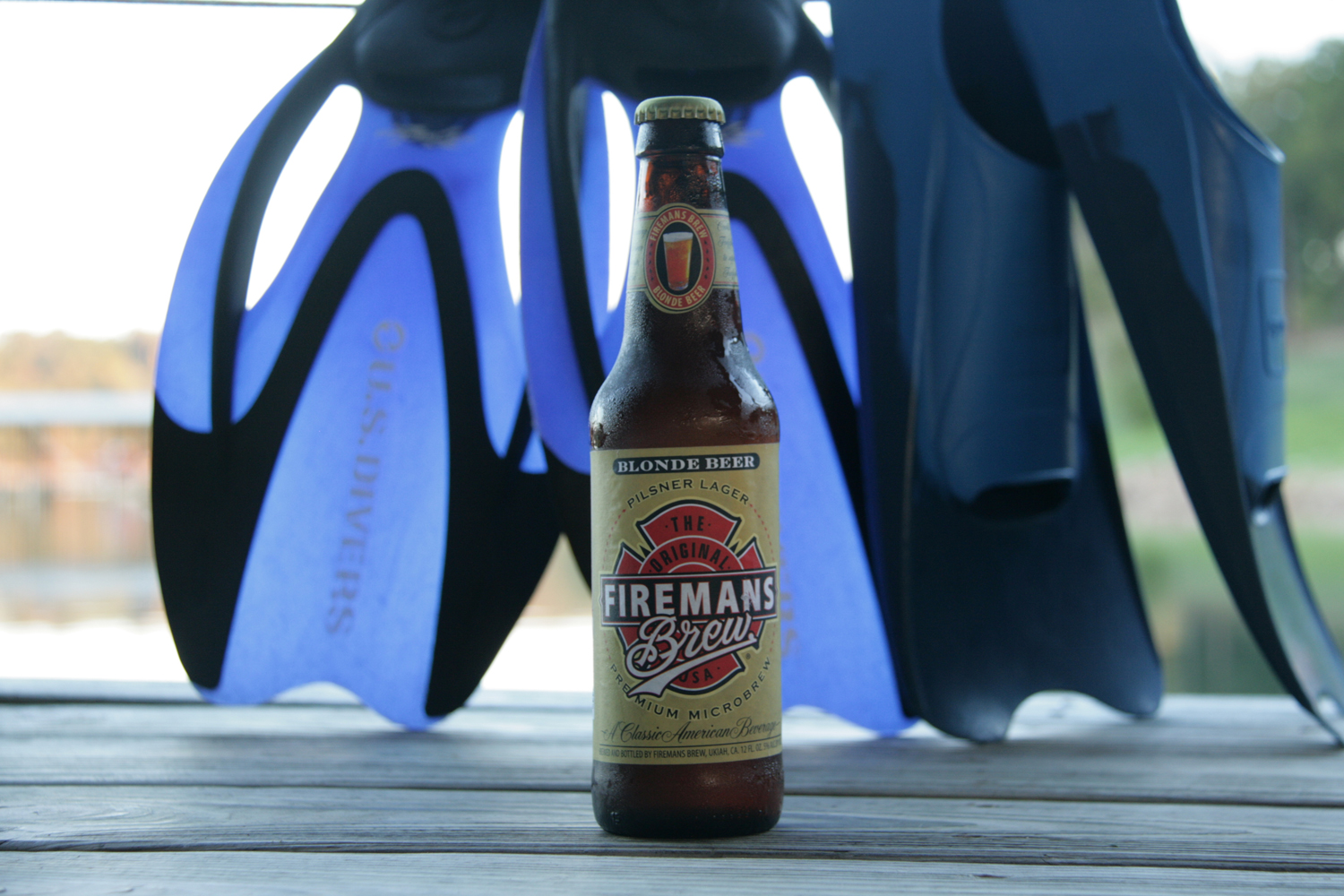 Put out the heat with Fireman's Blonde summer brew.