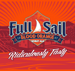 Full Sail Blood Orange summer beer wheat ale.