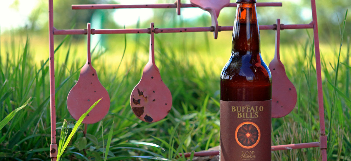 Buffalo Bill's Blood Orange Imperial Ale for summer.