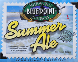 Blue Point's Summer Golden Ale is perfect for the season.