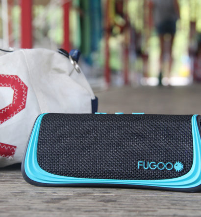 Enjoy your playlist with this bluetooth waterproof summer speaker.