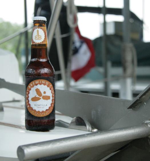 Enjoy Boatilla summer brew on the water.