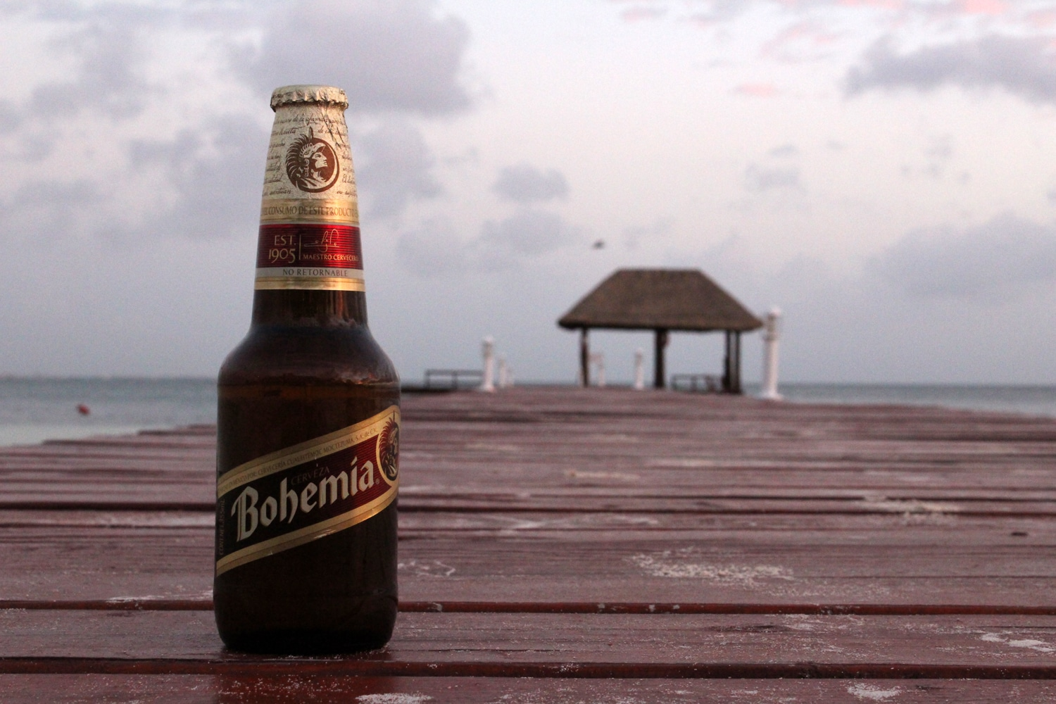 Enjoy Bohemia Beer when in Mexico.