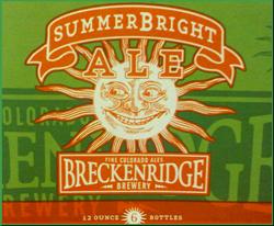 Drink SummerBright summer ale seasonal beer on the beach.