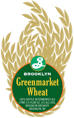 Greenmarket Wheat is a great New York summer community beer.