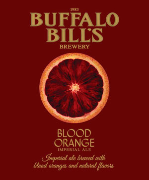 Summer Imperial Ale with blood orange by Buffalo Bill's.