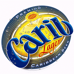 Find Carib lager beer throughout the Caribbean islands.