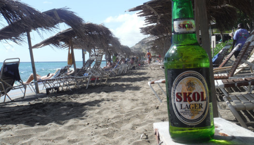 Skol Caribbean Island Beer