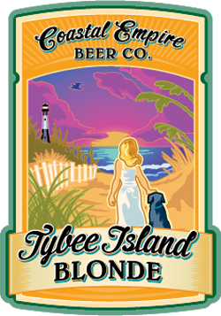 Coastal Empire Tybee Island is a delicious summer blonde beer.