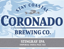 Stingray Imperial India Pale Ale from Coronado Brewing Co.