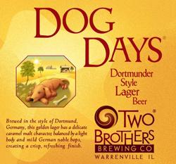 Drink this Dog Days summer Dortmunder lager beer during hot months.