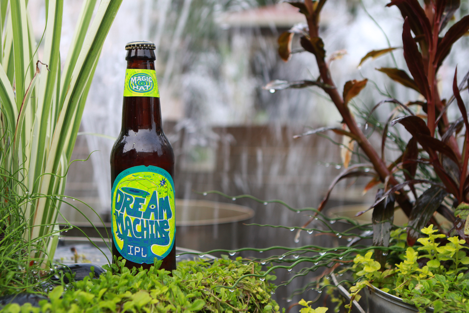Take a ride on the Dream Machine summer IPL beer.