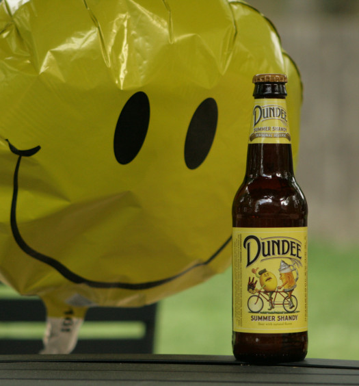 Dundee Summer Shandy beer is a mix of lemonade and beer.