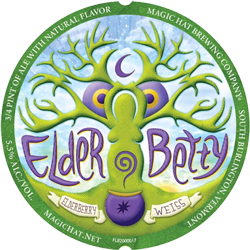 Elder Betty is a perfect fruit seasonal summer Elderberry beer.