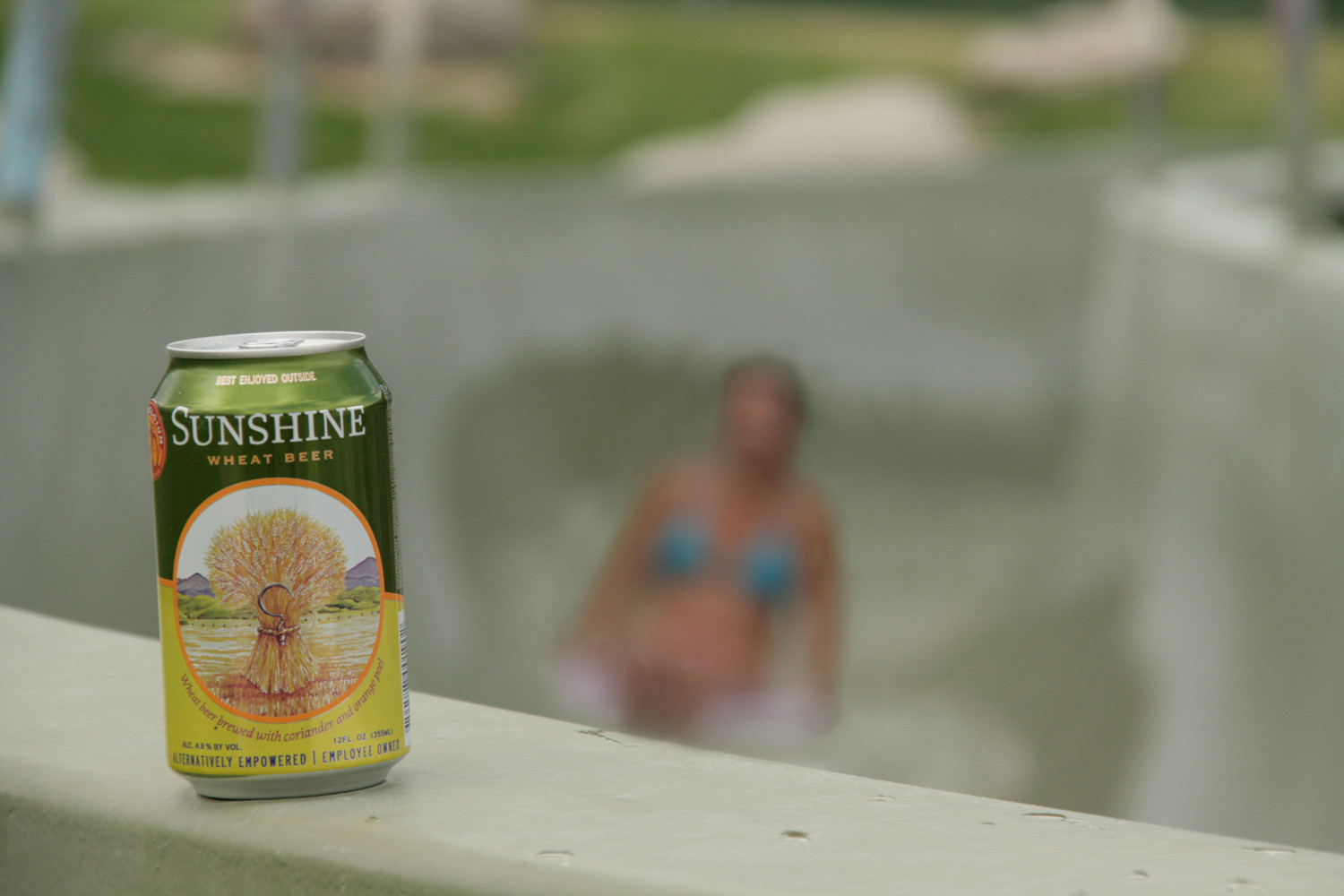 Sunshine Wheat summer beer is well crafted.