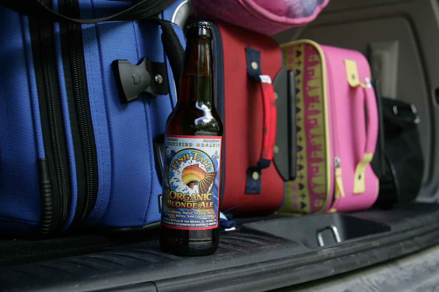 Find Fish Tale Blonde organic summer beer for an afternoon in the shade.