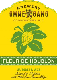 Fleur de Houblon is a refreshing grat summer beer.