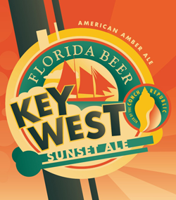 Key West beer is perfect for the Florida weather.