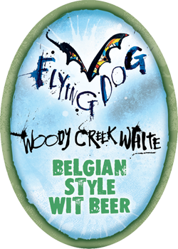 Flying Dog Woody Creek is a Belgian style summer witbier.