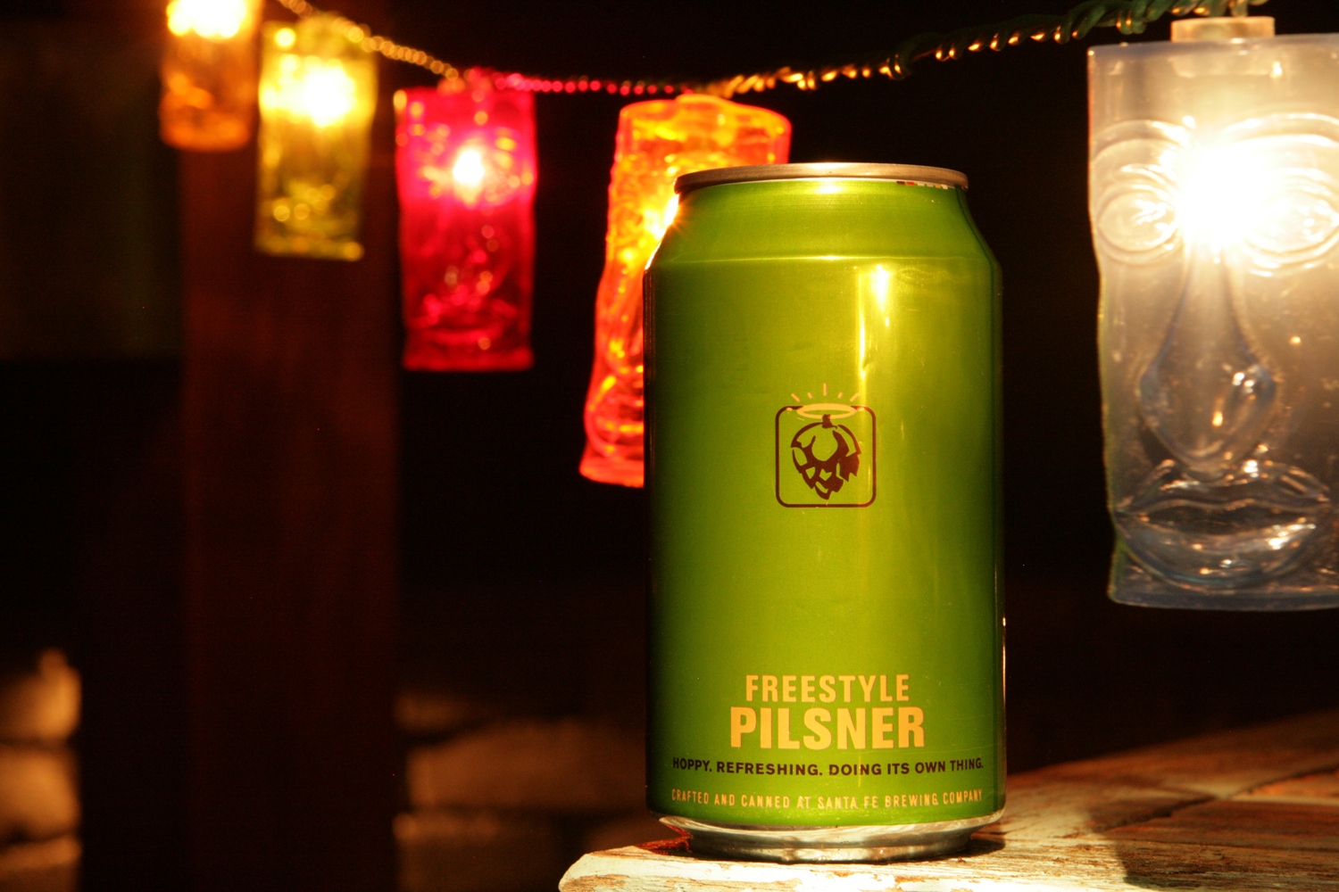 Freestyle Summertime Pilsner has a mind of it's own.