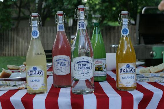 Use carbonated french lemonade for a summer radler or shandy.