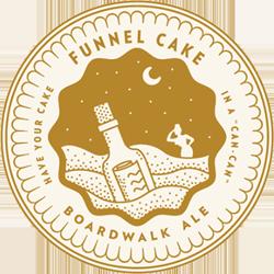 Funnel Cake beer cream ale from Forgotten Boardwalk.