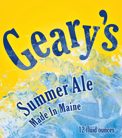 Geary's Summer Ale beer is the best of the Maine season.
