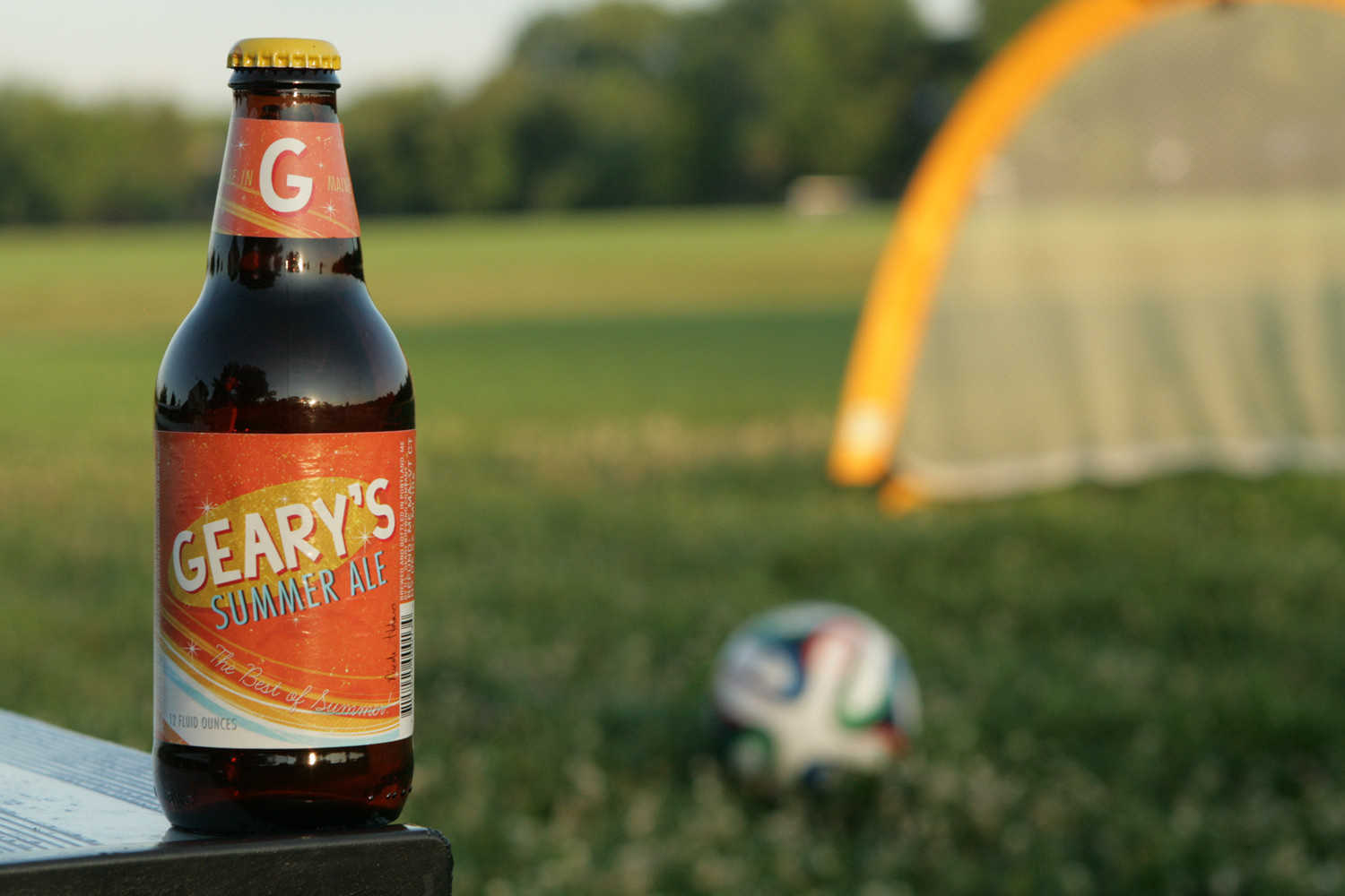 Experience the season with Geary's Summer Ale.