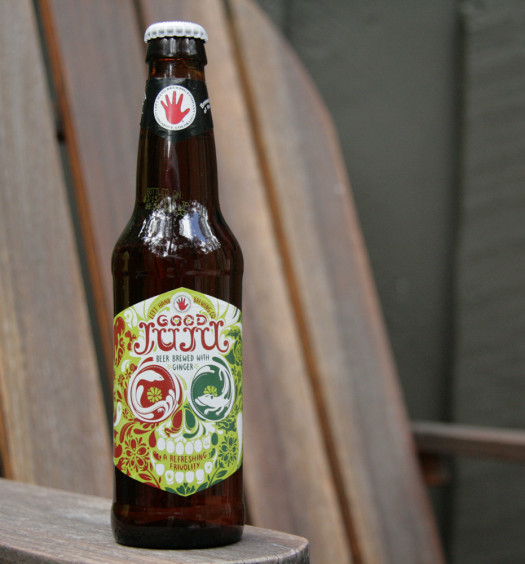 Good Juju summer beer is made with ginger.