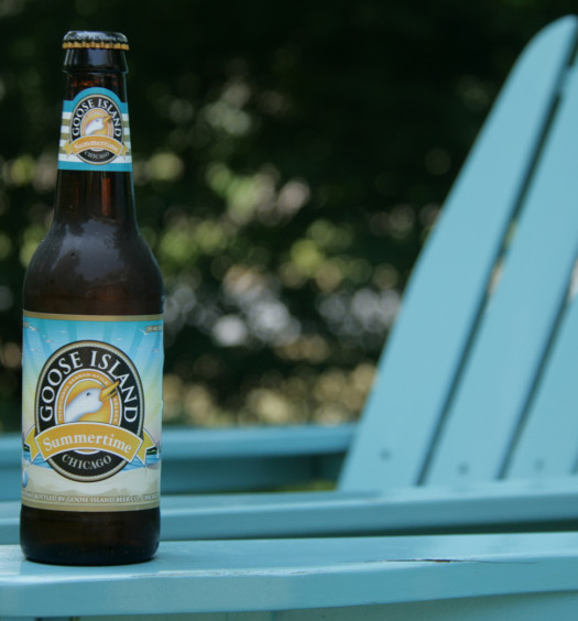Drink a favorite Goose Island Summertime craft beer this season.